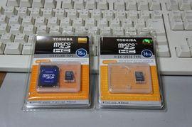 microSDHCの読み込み/書き込み速度