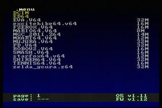 EverDrive 64がアップデート