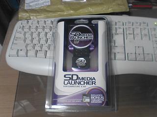 GC/Wii SD Media Launcher届いた