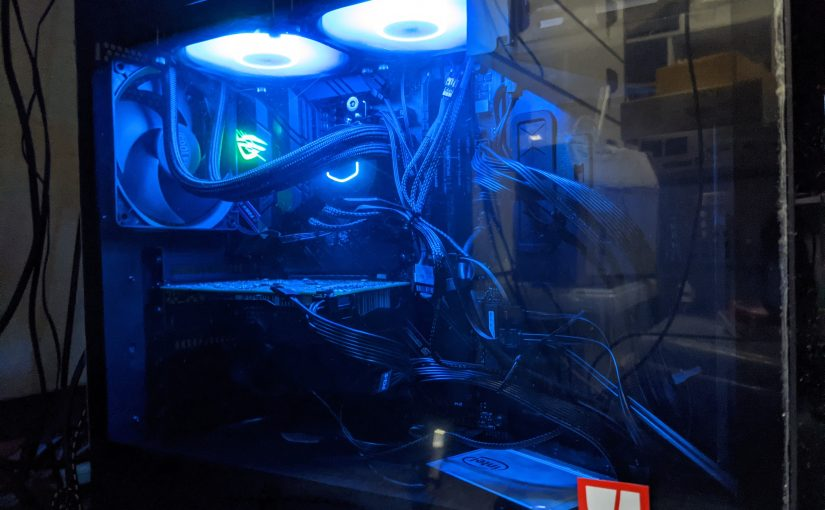 Ryzen5で自作PC